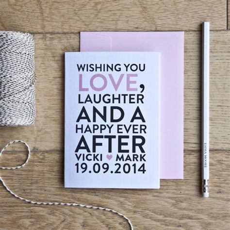 What Do You Write In A Congratulations Wedding Card