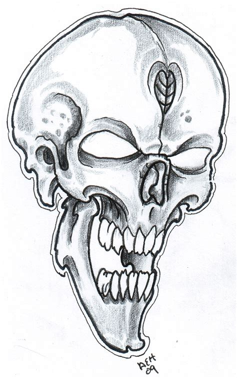 drawing tattoo design afrenchieforyourthoughts skulls tattoos drawings