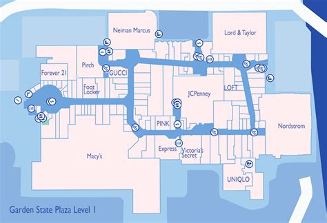Garden State Mall Map by The Best Stores To Visit At Westfield Garden State Plaza