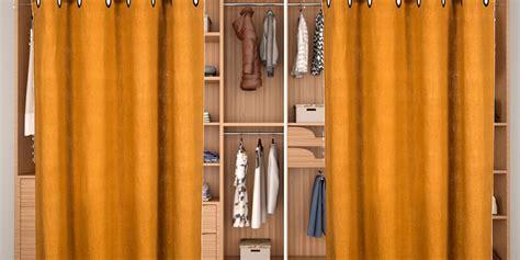 Dressing Avec Rideau Pas Cher by Un Dressing 224 Rideau Pas Cher Dans Ma Maison Espace