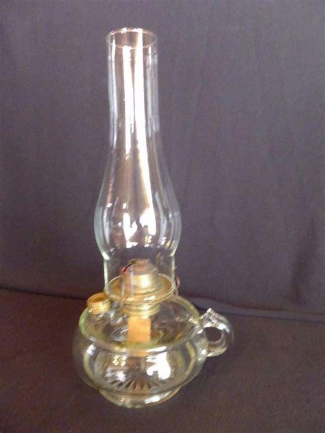 Glass Chimneys For Ls Uk by Antique Clear Glass Finger Handle L Eagle Burner