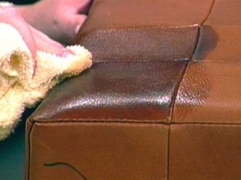how to get wax out of couch tips for cleaning leather upholstery diy
