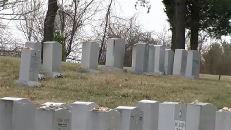 Judean Gardens by Security Questions At Md Cemetery Arise After Vandalism