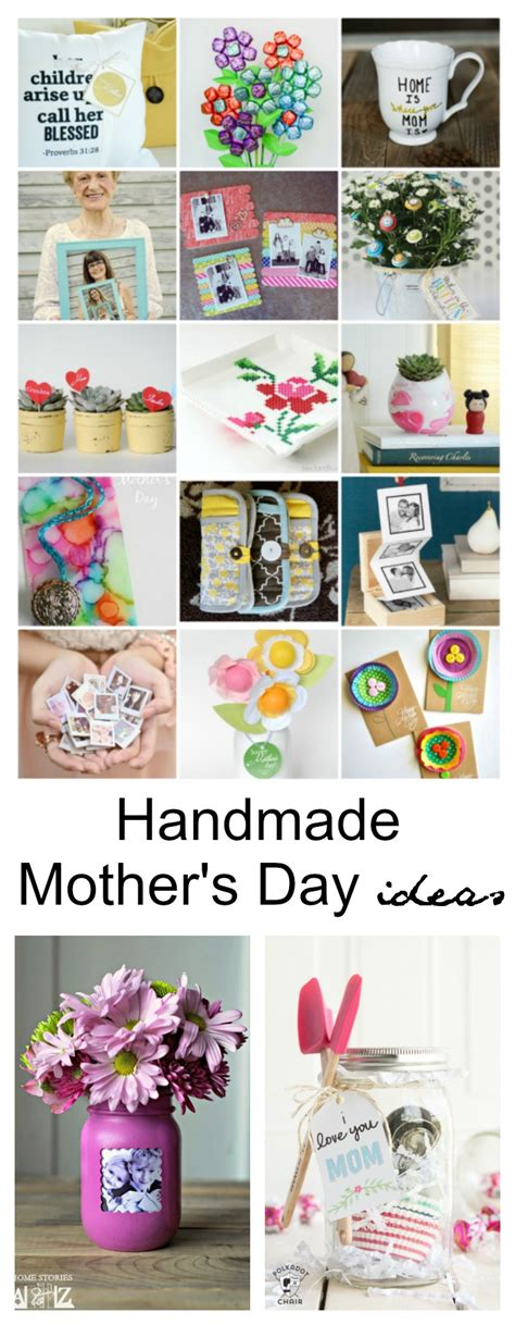 Handmade S Day Gifts - 43 diy mothers day gifts handmade gift ideas for