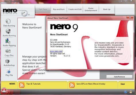 nero 9 cd dvd burner free download full version nero 9 download software the best sites in the world