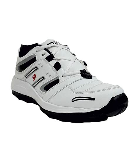rock sport shoes rock step mens sports shoes 706 white black price in india