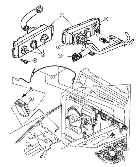 2001 Jeep Wrangler Heater 2001 Jeep Wrangler Heater And A C