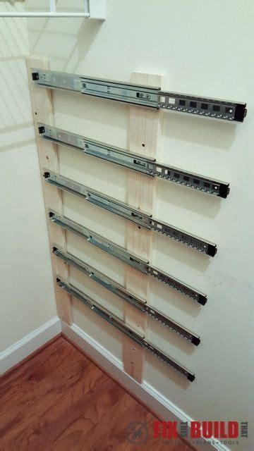 diy sliding wood crate storage drawers storage and