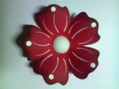 Imagenes De Rosas En Foami | flores elaboradas en foami de 7cm la docena bs 650 00