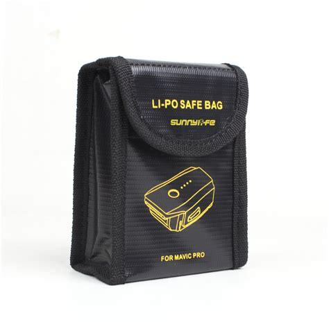 ᗗsunnylife lipo safe bag ᐂ battery battery explosion proof protective bag for dji mavic mavic