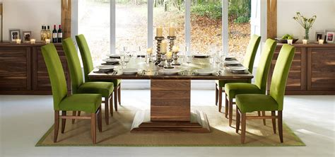 Dining Room Tables That Seat 8 square dining tables in solid oak amp walnut extending
