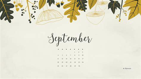 Calendar Background September 2016 Free Calendar Desktop Wallpaper