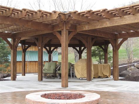 diy gazebo pergolas swing set picnic table western