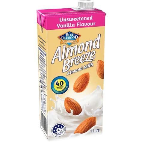 Almond Milk 1l almond unsweetened vanilla almond milk 1l woolworths