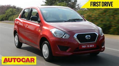 datsun go review 2014 datsun go drive review autocar india