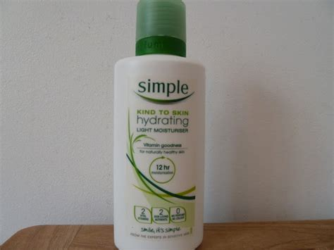Simple Light Moisturizer by Polishmakeupclothesjewellery Review Simple Hydrating