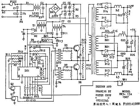 power diagram atx power supply schematic diagram wiring diagram and