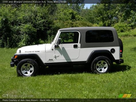 2005 Jeep Unlimited 2005 Jeep Wrangler Unlimited Rubicon 4x4 In White