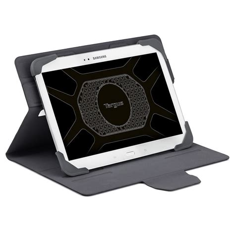 Targus Samsung Tab3 7 360 Rotating With 4 Stand Support Position Leather Sarung Kulit Tab 3 pro tek 7 8 rotating tablet