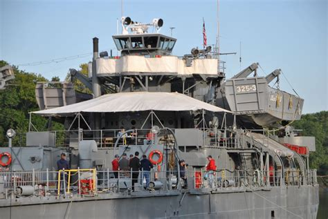 boat mechanic in clarksville tn wwii ship uss lst 325 open for tours at mcgregor park in