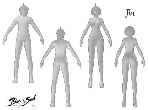 costume template blade soul