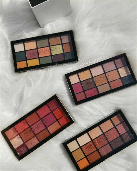 makeup revolution reloaded palettes review