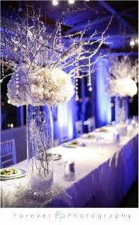 Winter Wedding Decoration - winter wonderland wedding centerpieces pictures wedding decorations
