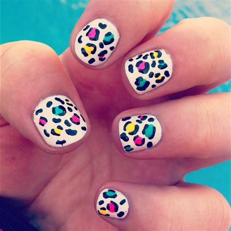 imagenes de uñas decoradas leopardo tutorial u 241 as de leopardo