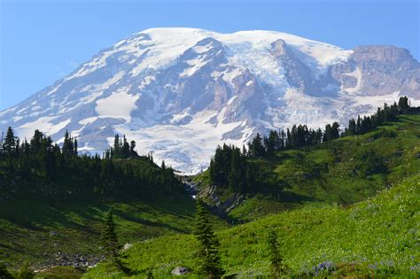 Washington State Address Lookup Mt Rainier In Paradise Day Press