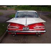 59 Chevrolet Impala Rear At The Fairway