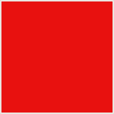 what color is crimson e8110f hex color rgb 232 17 15 crimson