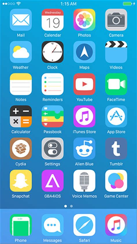 ios 9 theme for ios 8 jailbreak by theromanemperor on 20 best ios 9 1 ios 9 themes for iphone
