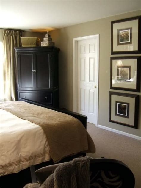 color ideas bedroom dark furniture for warm sense hitez this is the colors of my room tan with black decor but i