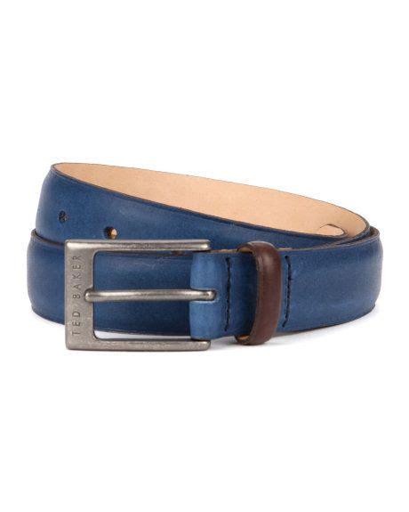 Ted Baker Belt Colour Block color block leather belt blue belts ted baker