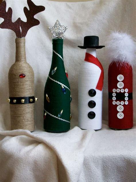 decorate wine bottle for christmas decor wine bottles wine bottle crafting wine