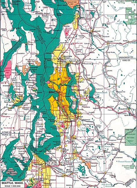 printable seattle area map large seattle maps for free download and print high