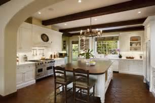 Spanish Kitchen Design by Spanish Colonial Mediterranean Kitchen Santa Barbara