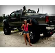 Hot Women Lifted Trucks  Pinterest Girls