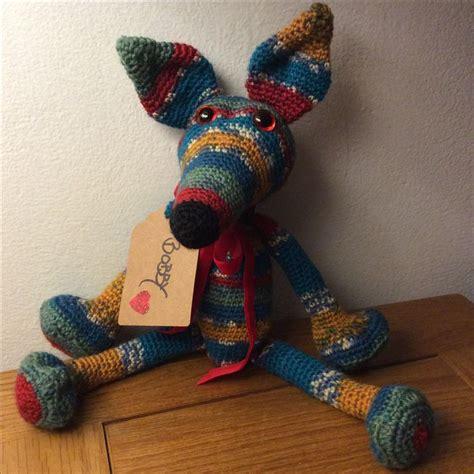 amigurumi greyhound pattern my latest crocheted amigurumi greyhound lurcher dogs