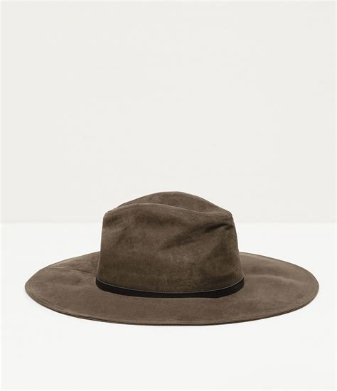 zara leather style fabric hat leather style fabric hat in