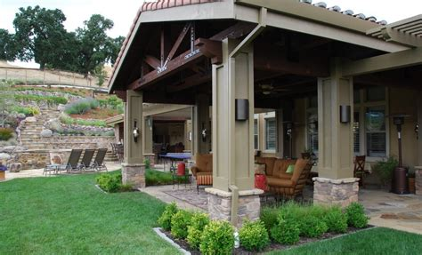 Small Backyard Covered Patio Ideas Outdoor Covered Patio Ideas Landscaping Gardening Ideas