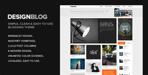 blog layout minimal design blog a minimal and creative blog theme for