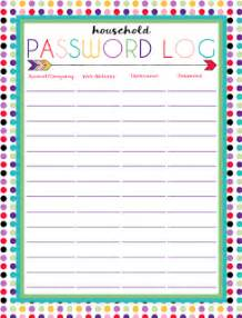 i should be mopping the floor free printable password log