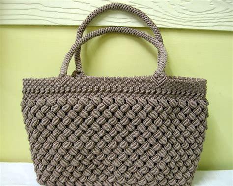 macrame purse macrame purse