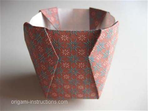 Simple Origami Vase - 22 best origami images on origami paper paper