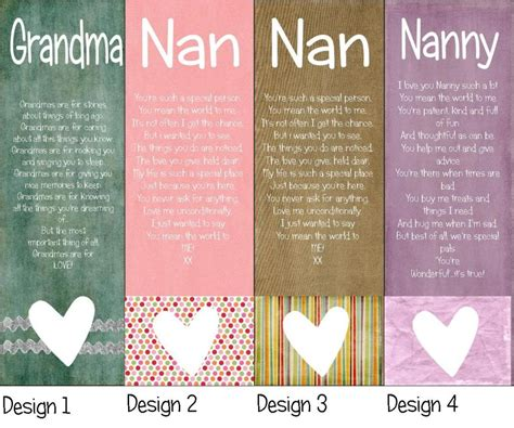 Birthday Quotes For Nanny Nanny Grandma Quotes And Poems Quotesgram