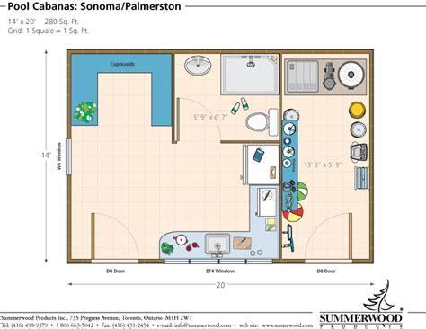 Cabana Floor Plans | shed storage shed garden shed pool house cabin