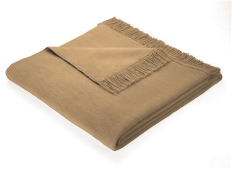 decke 60 baumwolle 40 dralon biederlack 100 x 200 cm cotton cover blanket throw camel