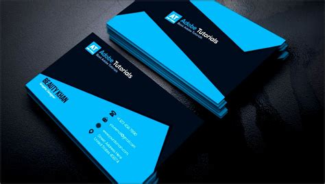 Adobe Illustrator Business Card Template Tutorial by 7 Business Card Templates For Adobe Illustrator