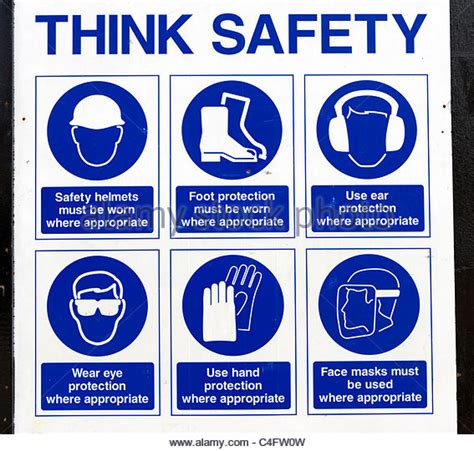 Baustellenschild Englisch by Construction Site Safety Sign Stock Photos Construction